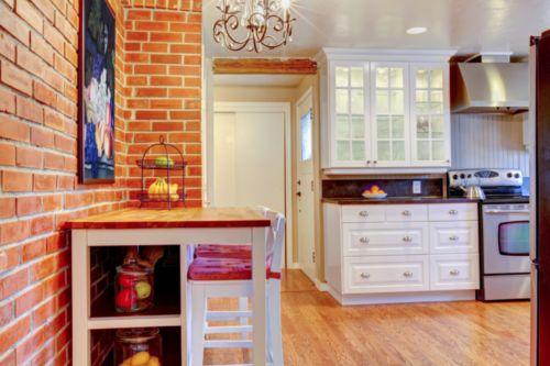Какие обои выбрать для кухни с гарнитуром: фото варианты