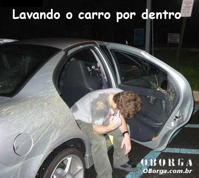Vomito no Carro