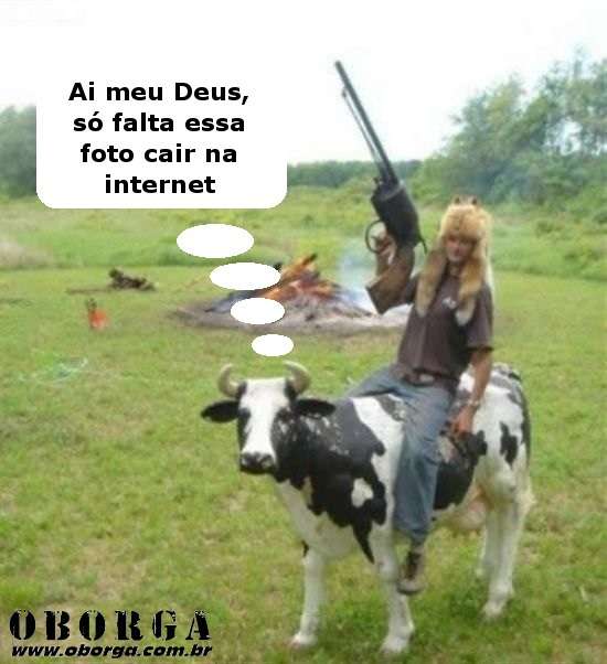 Vaca vergonha alheia