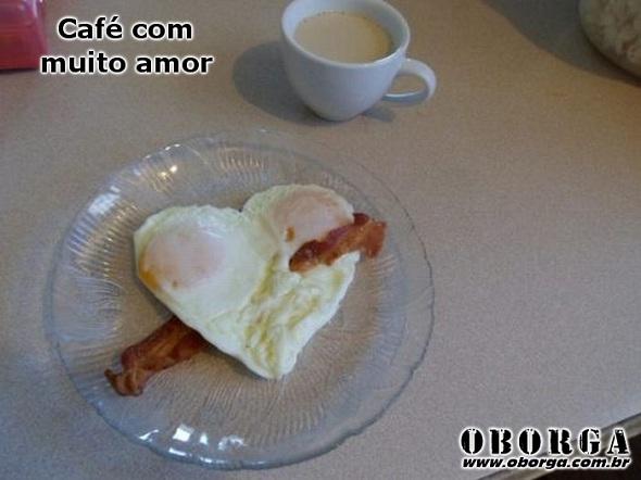 Café da manhã com amor