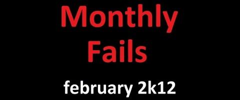 Fails – fevereiro de 2012