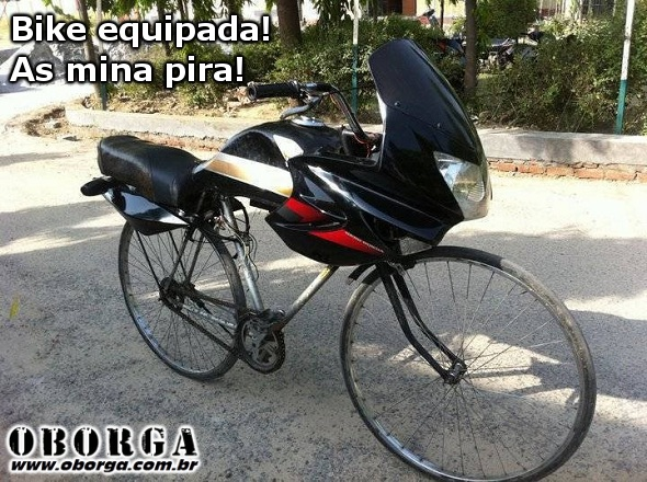Bike equipada!