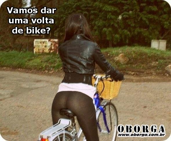 Vamos dar uma volta de bike?
