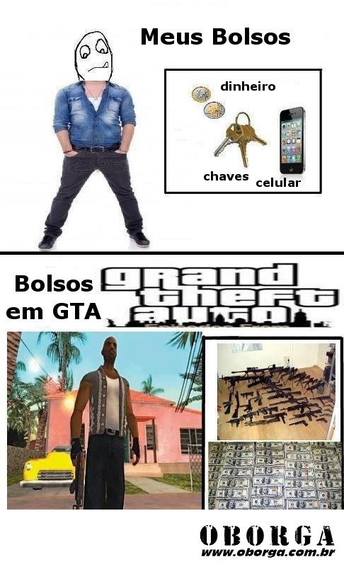 Bolso no GTA
