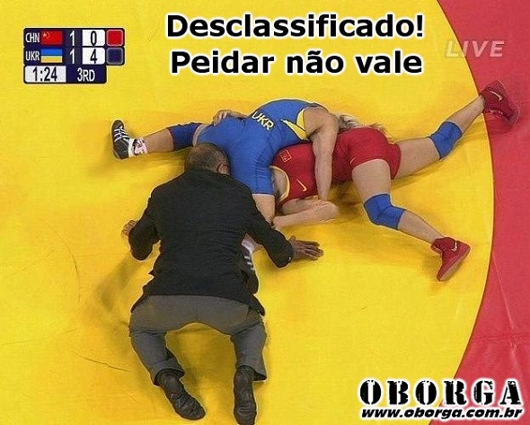 Enquanto isso, nas Olimpíadas