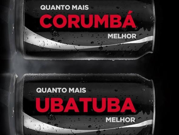 Novas latinhas da Coca Zero – Cidades