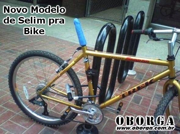 Novo Selim pra Bike