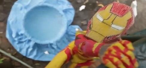 Homem de Ferro – Versão Pobre