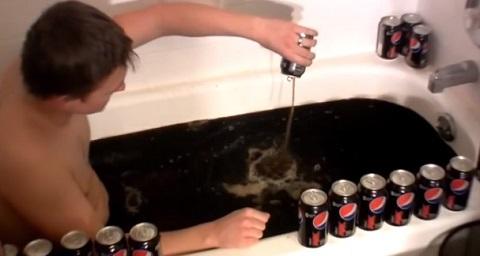 Banho de Pepsi