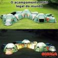 O acampamento mais legal do mundo