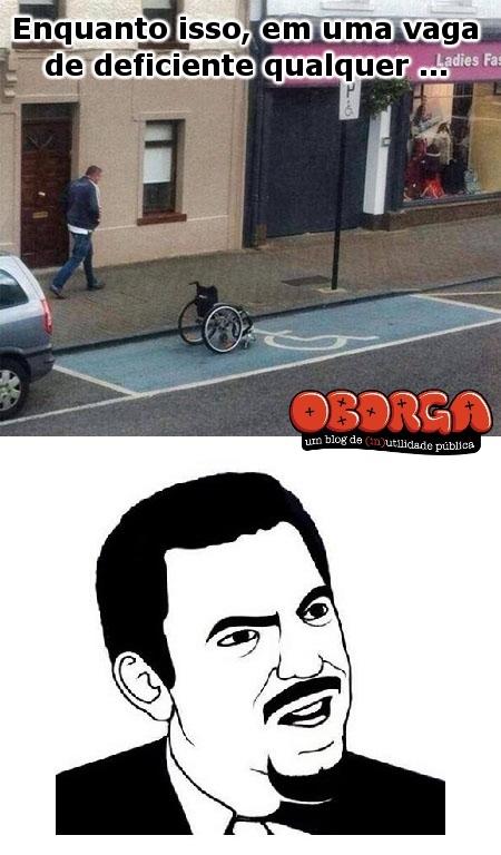 Vaga para cadeirante