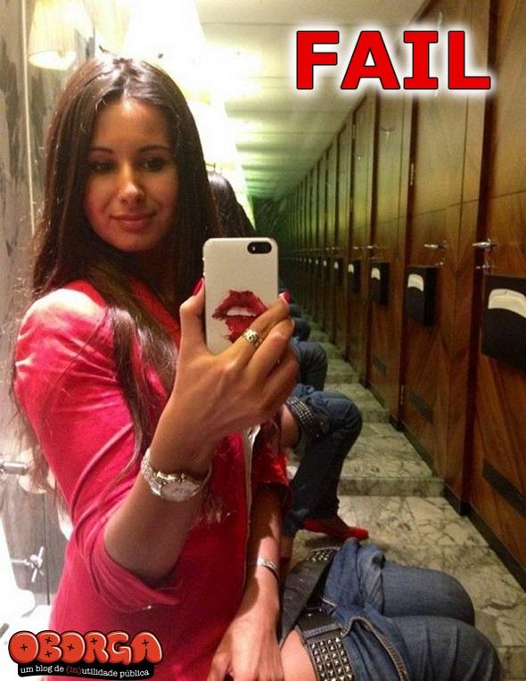 FAIL na foto #445 - Foto no Espelho