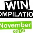 WIN Compilation – Novembro 2013