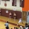 Ponto incrível no basquete