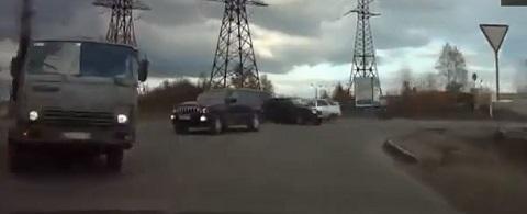 Em um dia normal no trânsito da Rússia #29