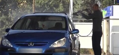 Quando você lava o seu carro