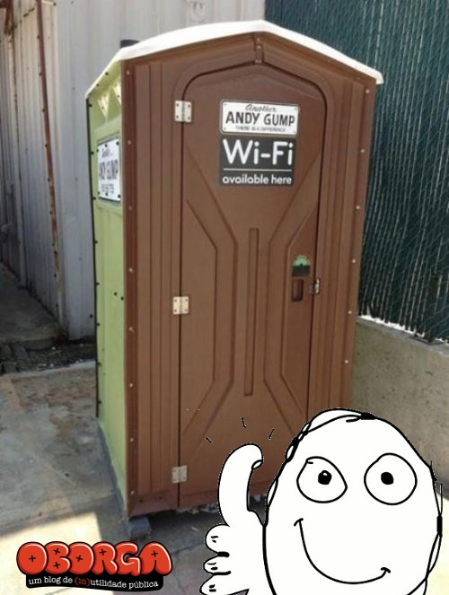 Banheiro Quimico - Wi FI