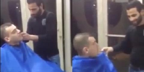 Pegadinha no cabeleireiro