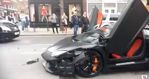 Batendo uma Lamborghini Aventador em Londres