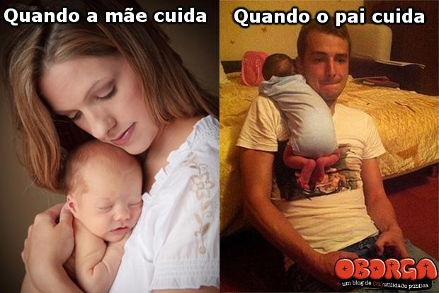 Diferença entre pai e mãe