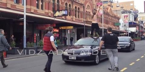Um dia de fúria na Austrália