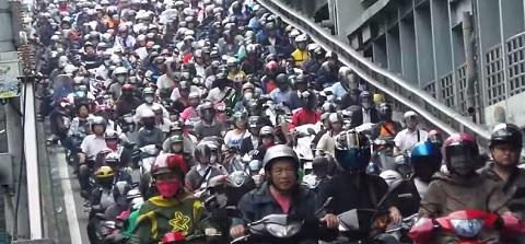 Avalanche de Moto