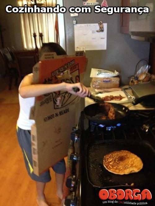 Como cozinhar com segurança