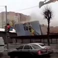 Em uma demolição qualquer na Rússia