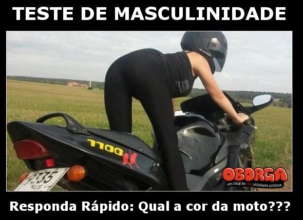 Teste De Masculinidade com Moto