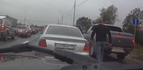 Em um dia normal no trânsito da Rússia #37