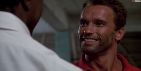 Fartzenegger , as flatulências de Schwarzenegger