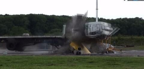Crash Test com um caminhão