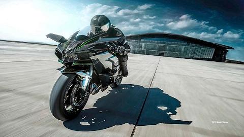 Kawasaki H2R – De 0 a 400 km/h em apenas 26 segundos