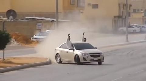 Drifting estilo Arábia Saudita #2