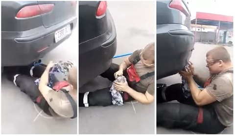 Uma experiência muito idiota para fazer com o escapamento do seu carro
