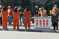 San Diego protest against torture
