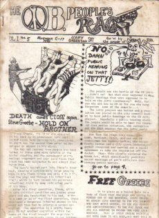 the raw OB Rag Vol. 1, No. 5 - Nov. 5 - 17, 1970