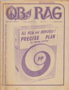 The Rag Critiques the Precise Plan - Vol. 4, No. 6 - early January 1974