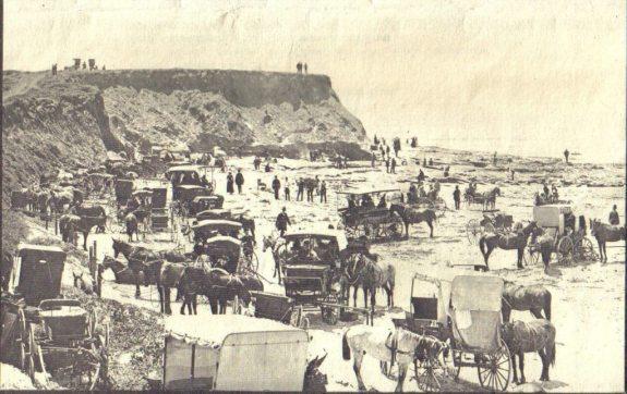 Ocean Beach - 1890 - future site of pier
