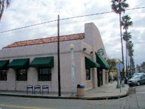 Starbucks in OB, corner of Newport Ave. & Bacon St.