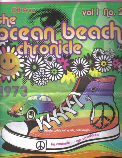 Ocean Beach Chronicle, Issue #2 - (as much as could be scanned on our small scanner)