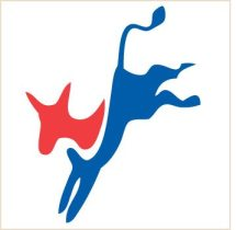 Democratic Party new logo sticker