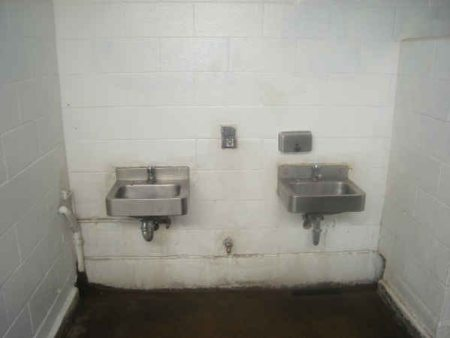 The Women's Room sinks.