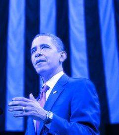 Blue Obama