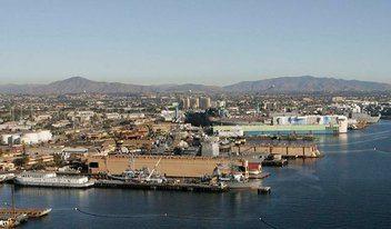 Shipyard bay cleanup