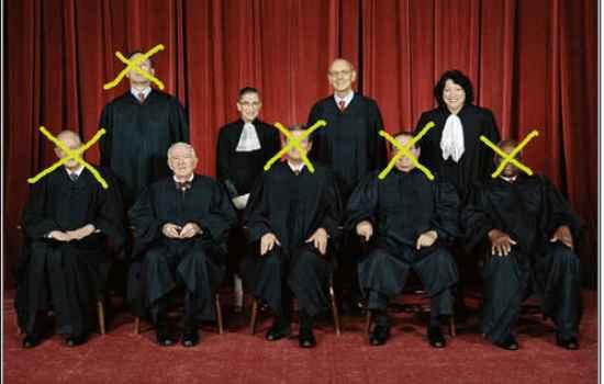 US Supreme Court x's