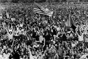 Sixties - huge rally