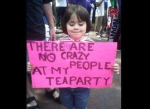 tea party lil girl funny