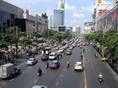 bangkok-thailand street