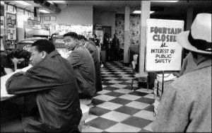 civil rights sit in counter
